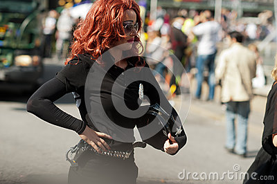 Stockholm Pride Parade 2012 Editorial Photography
