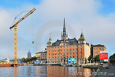 Stockholm, Riddarholmen Editorial Photo