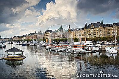 Stockholm River Scene