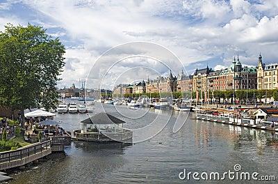 Stockholm s cityscape