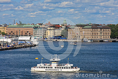Stockholm, Sweden Editorial Stock Photo