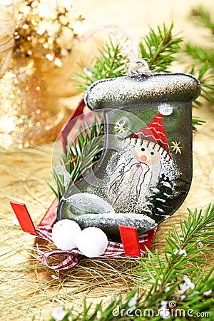 Stocking Santa Claus