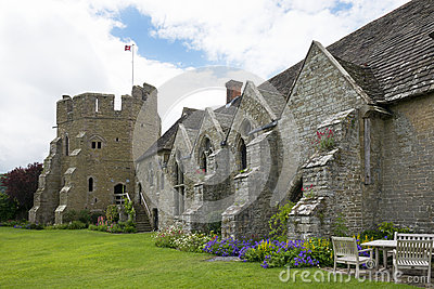 Stokesay Castle Hall and South Tower