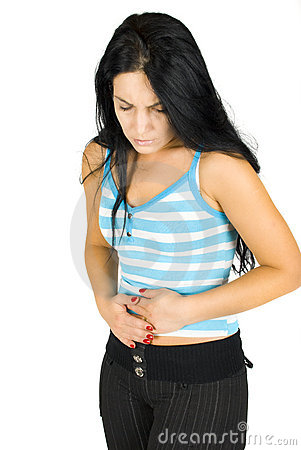 Free Stomach Ache Royalty Free Stock Photography - 7127727