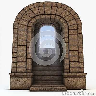 Stone arc