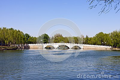 Stone arch bridge of Beijing, China
