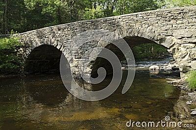 Stone Arch Bridge over Ten Mile River, Tusten NY