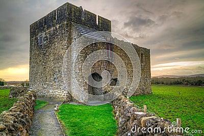 Stone architecture of Kilmacduagh monastery