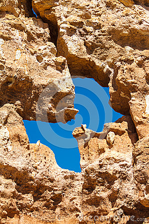 Stone background in Charyn Canyon