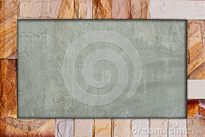 Stone Brick Frame Stock Photo - Image: 24773660