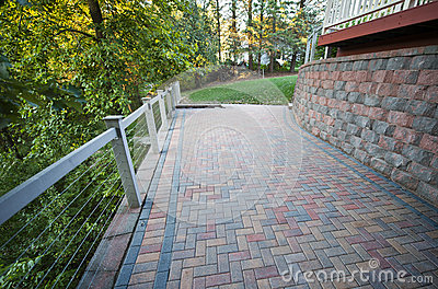 Stone Brick Patio, Mason Pavers