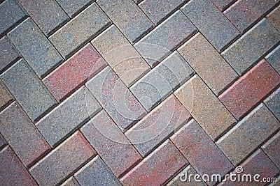 Stone Brick Patio Pavers, Colorful