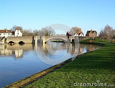 Stone Bridge across the River