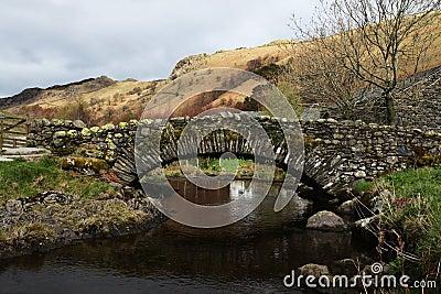 Stone bridge in the English Lake District