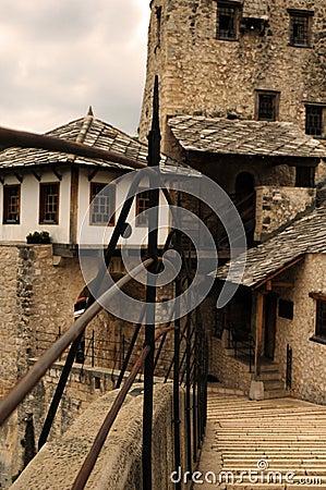 Free Stone Bridge In Mostar Stock Images - 44723854