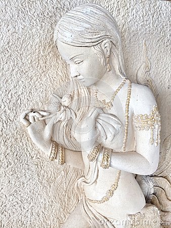 Free Stone Carving Royalty Free Stock Photo - 43111085