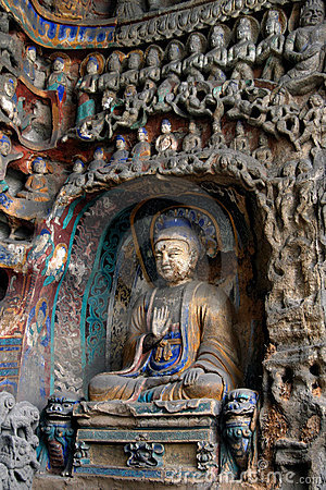 Stone Carving of Yungang 25