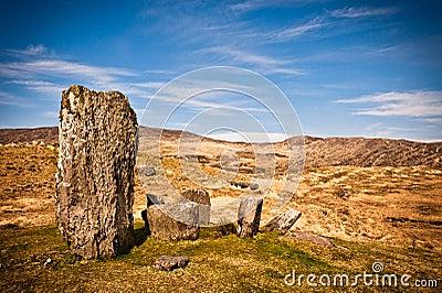 Stone circle, Ireland
