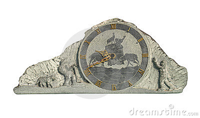 Stone Clock watch