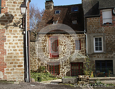 Stone cottage in France