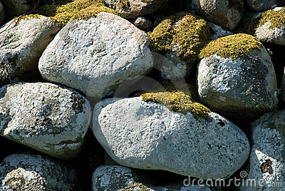 Stone Covered With Moss Royalty Free Stock Photo - Image: 22961955