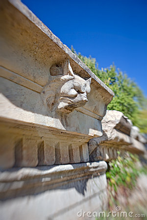 Stone decorations in Aphrodisias
