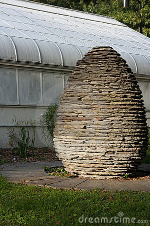 Stone Egg Sculpture