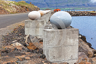 The Stone Eggs of Merry Bay, Djupivogur, Iceland