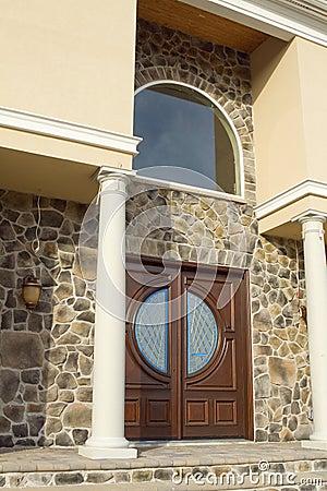 Stone Entrance