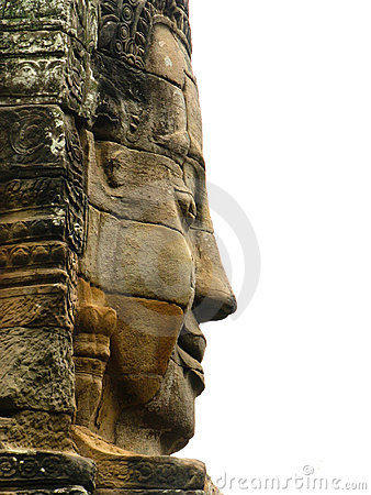 Free Stone Face Stock Photography - 14520282