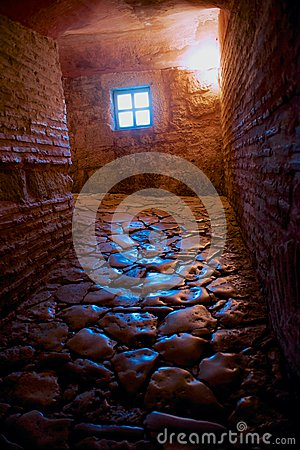 Free Stone Floor Passage In The Ancient Hagia Sofia Church Royalty Free Stock Photo - 38116015