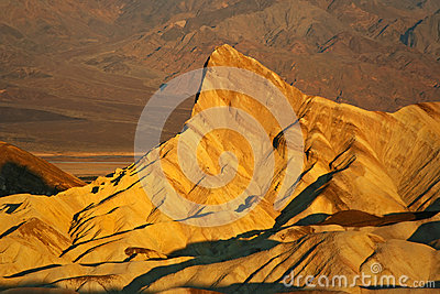 Stone formation at Death Valley