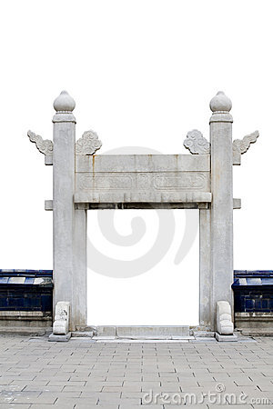 Free Stone Gate Stock Images - 6702464