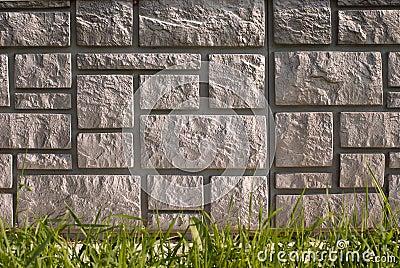 Stone house foundation