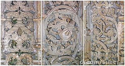 Stone lace of Batalha, Portugal