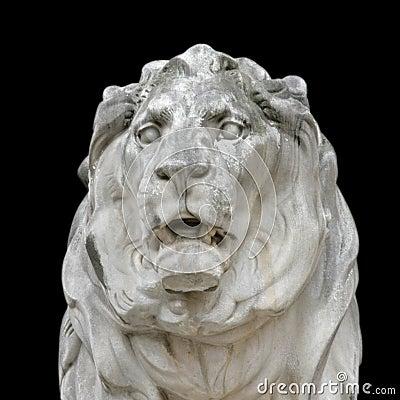 Free Stone Lion Royalty Free Stock Photo - 2743725