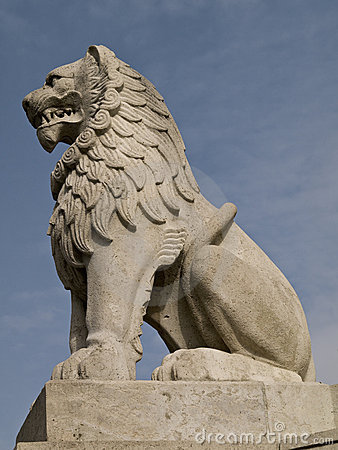 Free Stone Lion Stock Images - 4754074