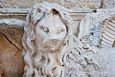 Stone monument Trogir, Croatia