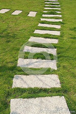 Free Stone Path Royalty Free Stock Photography - 3693867