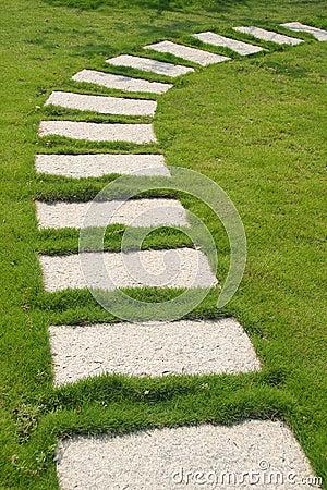 Free Stone Path Stock Photo - 3774730