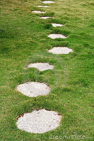 Stone Path Royalty Free Stock Photo - Image: 4264075