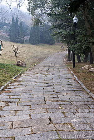 Stone Path Outdoor Royalty Free Stock Photography - Image: 11859007