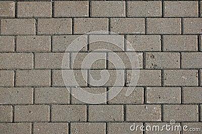 A stone pavement