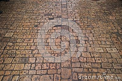 Stone brick pavers