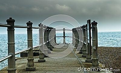 Stone pier