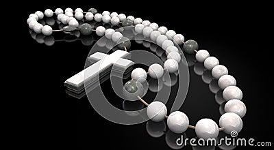 Stone Rosary Beads