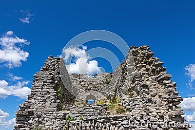 Stone ruins in Gotland, Sweden