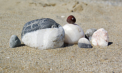 Stone s Family on a beach