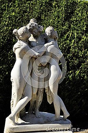 Stone sculpture