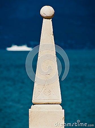 Stone sculpture detail